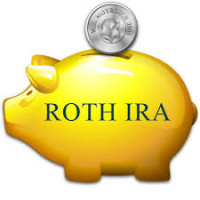 Roth IRA Piggy bank